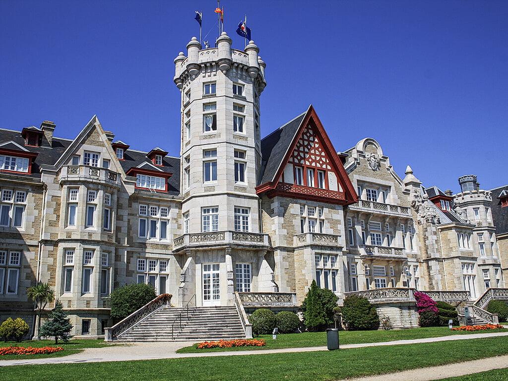 Palacio de la Magdalena en Santander - palacios de Cantabria