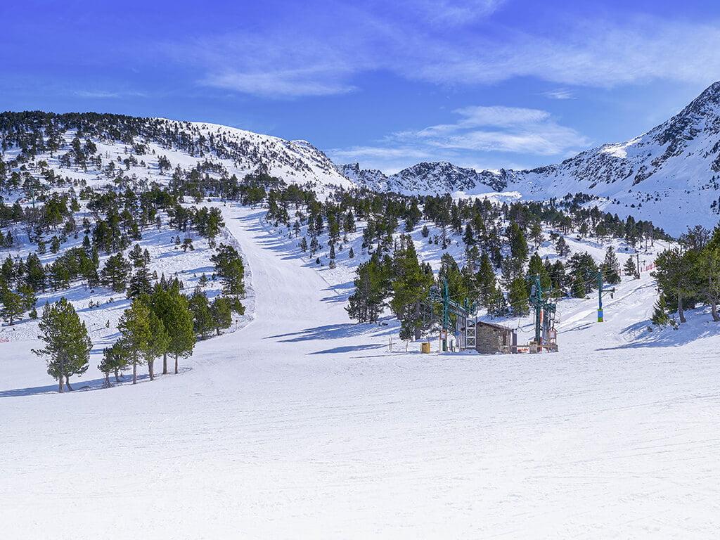 Pistas de esquí de Ordino Arcalís, viajar a Andorra