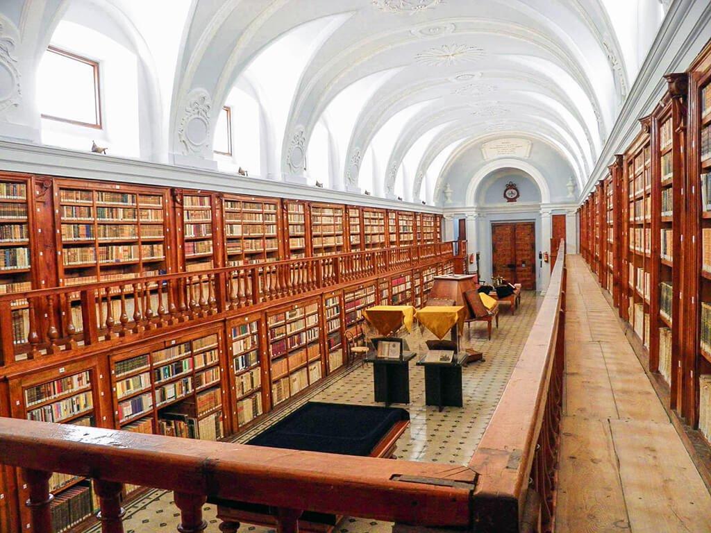 Biblioteca del Monasterio de la Vid