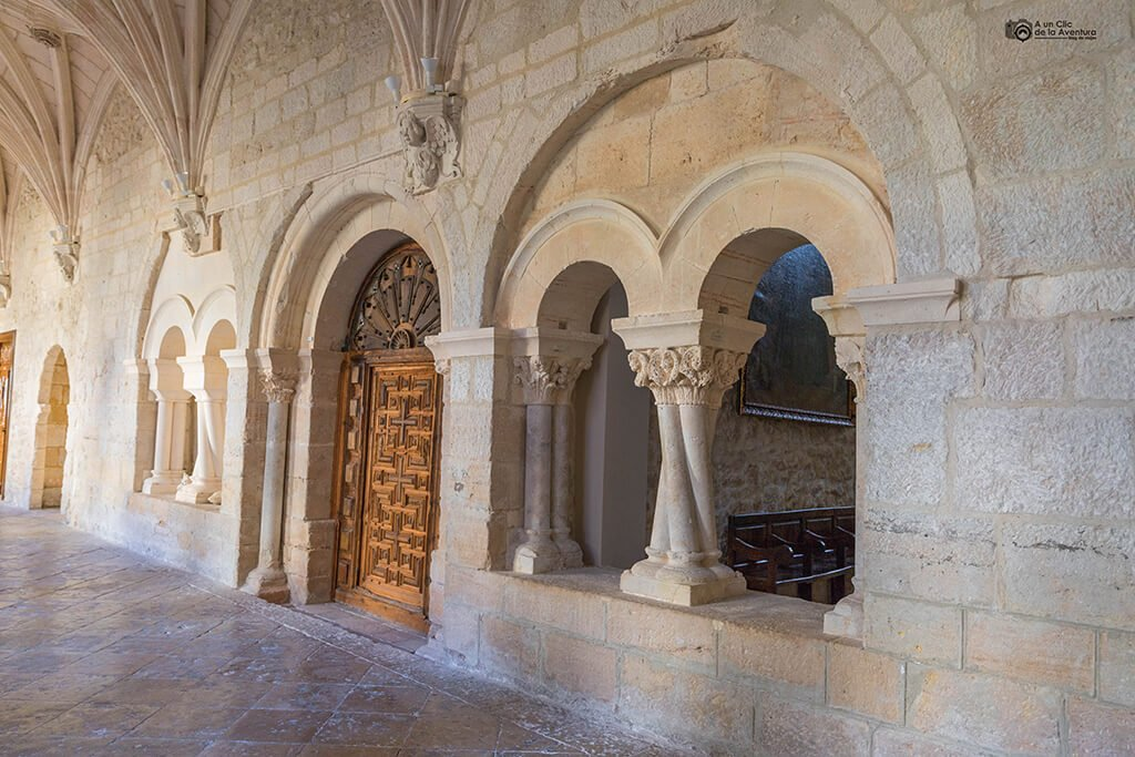 Capiteles románicos del Monasterio de Santa María de la Vid