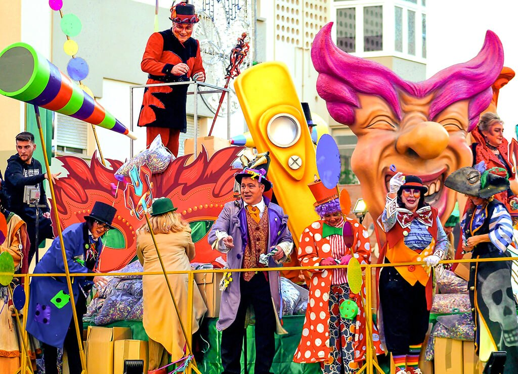 Carnaval de Cádiz con niños