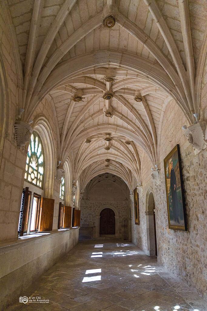 Claustro del siglo XVI del Monasterio de la Vid