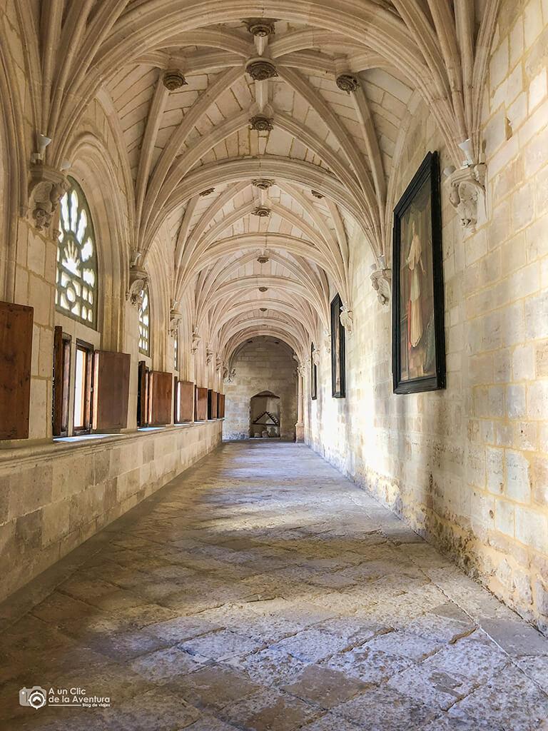 Claustro bajo del Monasterio de Santa María de la Vid
