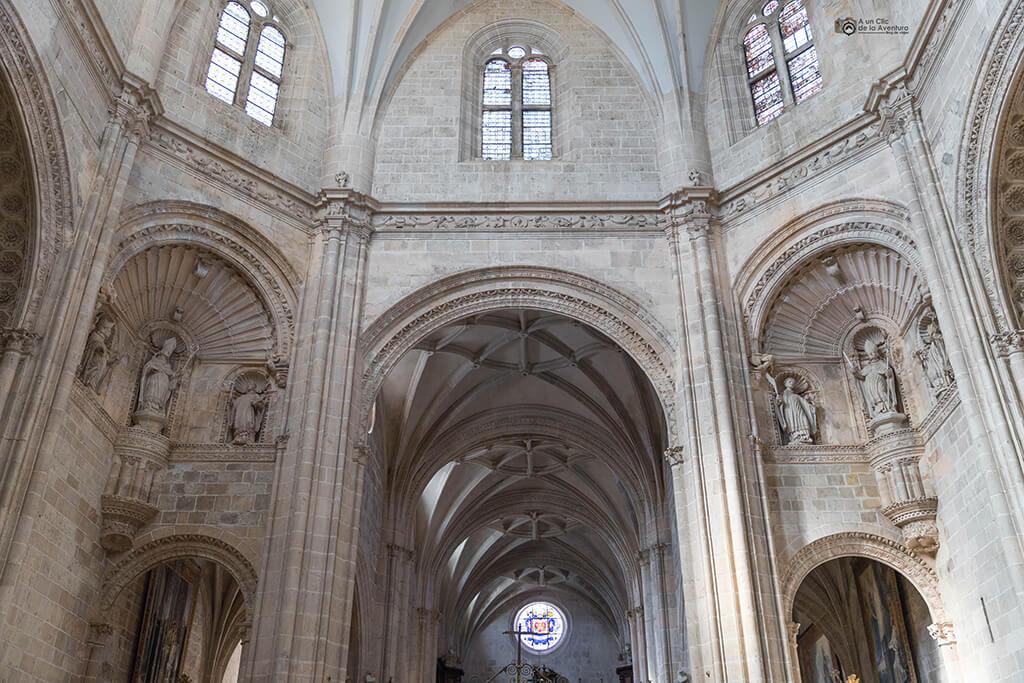 Detalle de la iglesia del Monasterio de la Vid