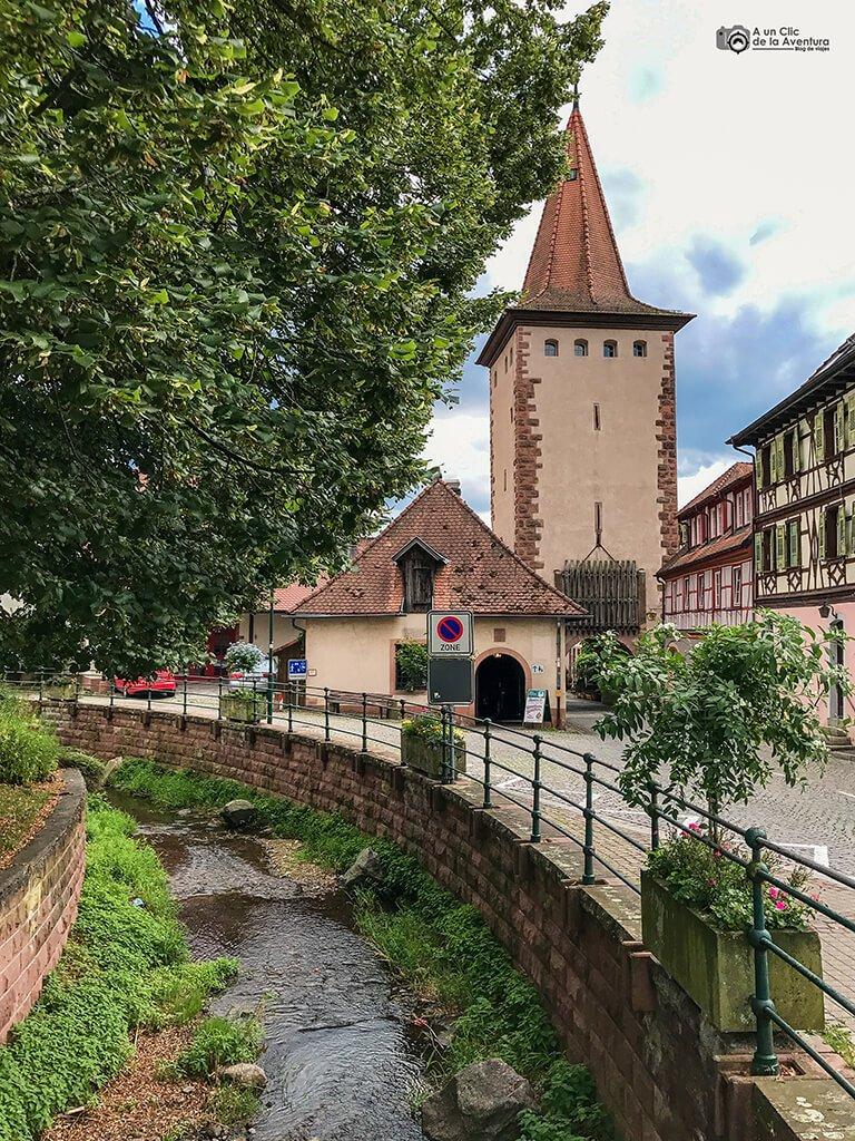 Entrada a Gengenbach por la Obertorturm