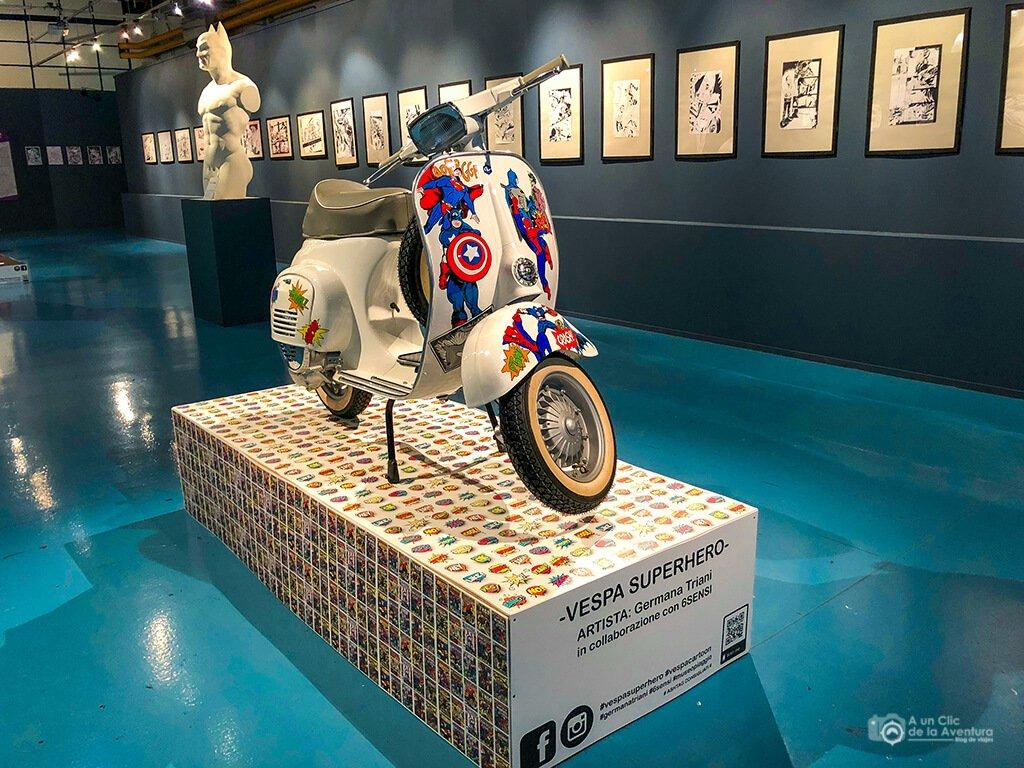 Exposición temporal del Museo Piaggio, Pontedera