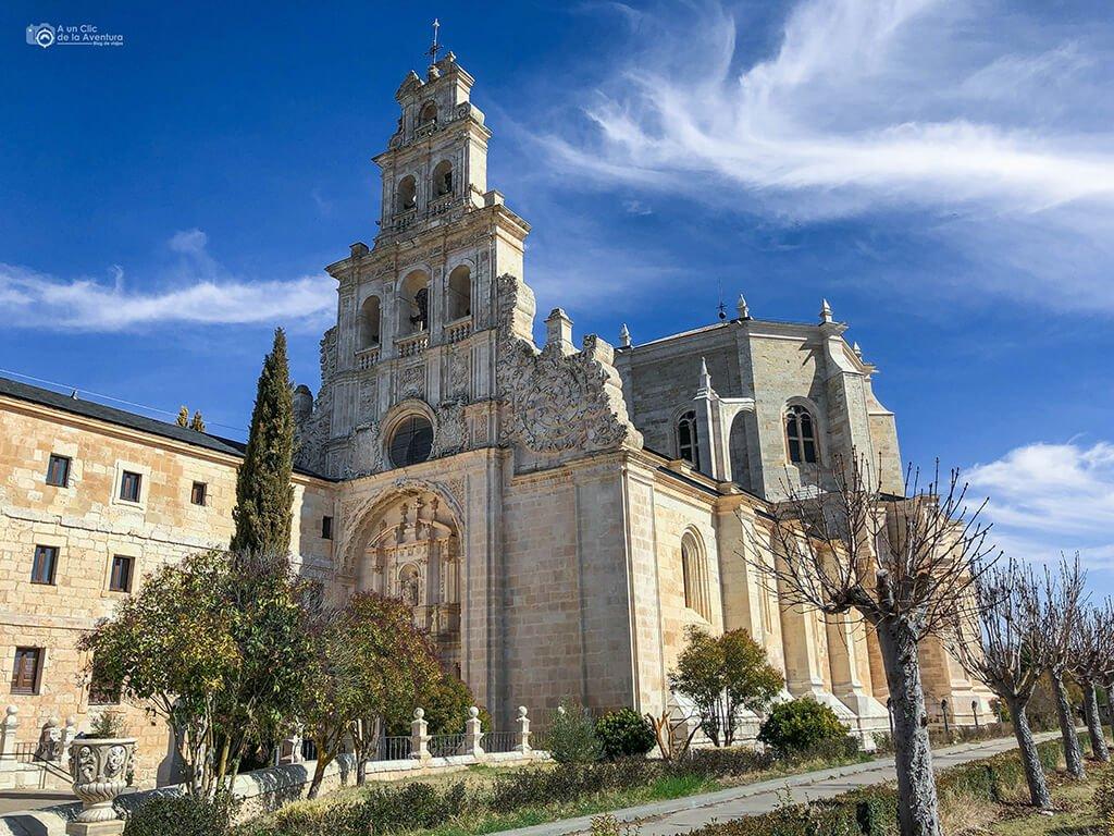 Exterior del Monasterio de Santa María de la Vid