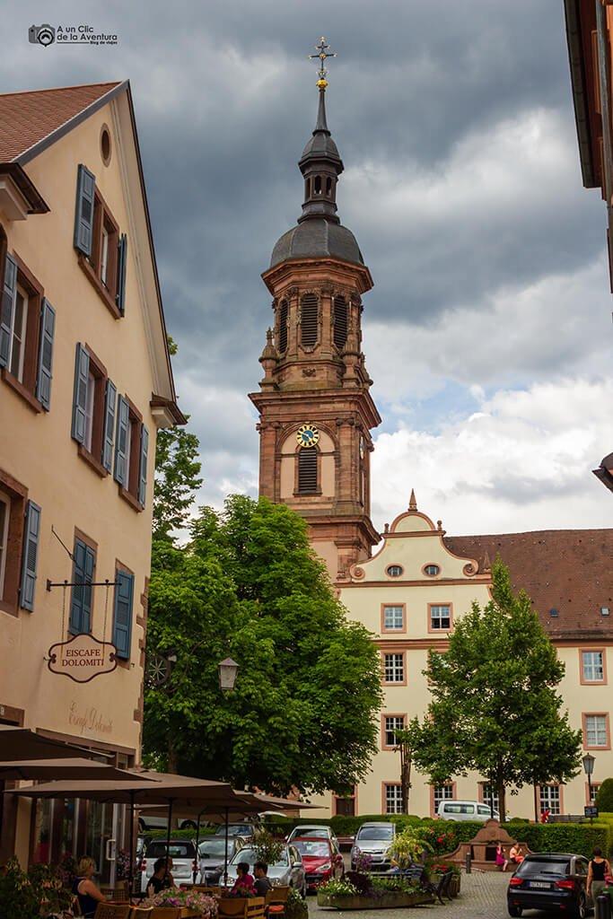 Torre de la Iglesia de Santa María de Gengenbach