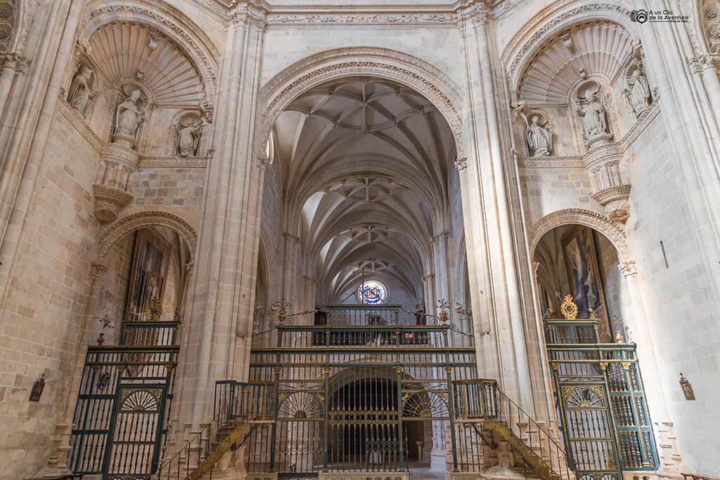 Interior de la iglesia del Monasterio de Santa María de la Vid