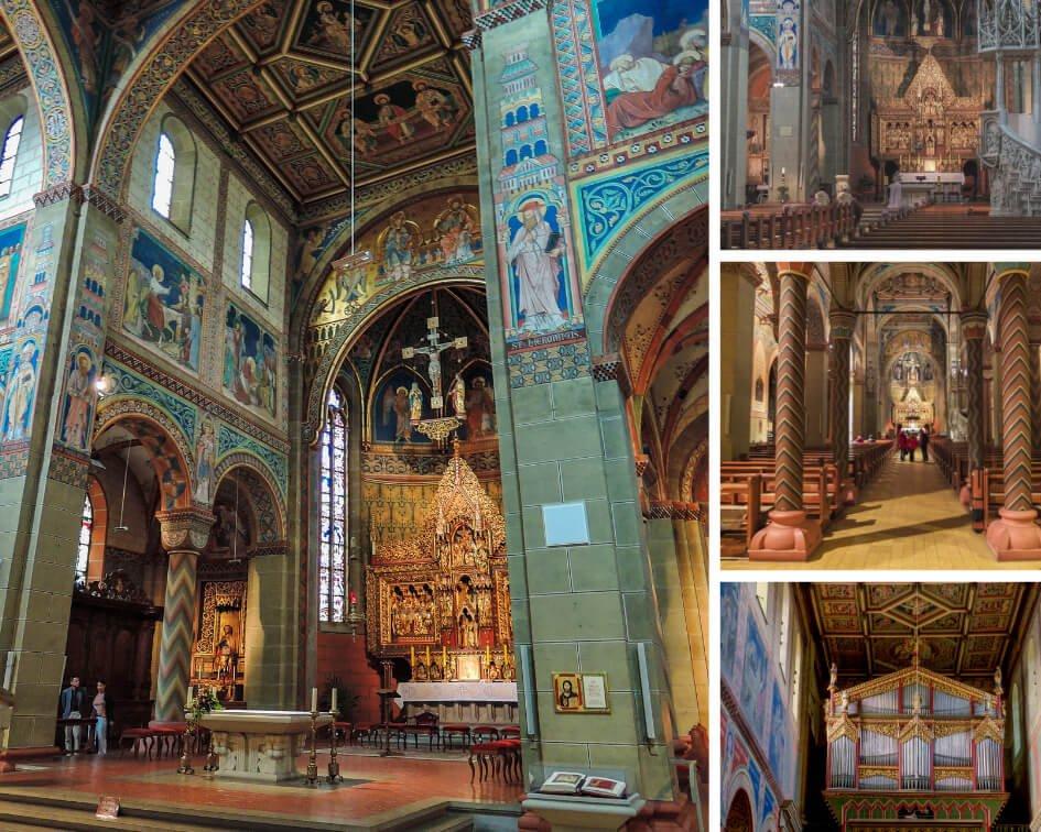 Interior de la Iglesia de Santa María de Gengenbach