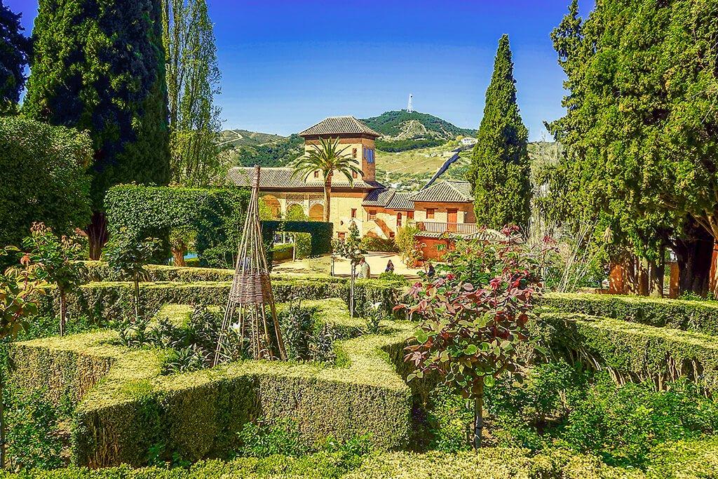 Jardines de la Alhambra de Granada - visitar la Alhambra