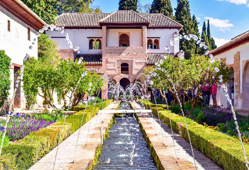 Jardines del Generalife - visitar la Alhambra