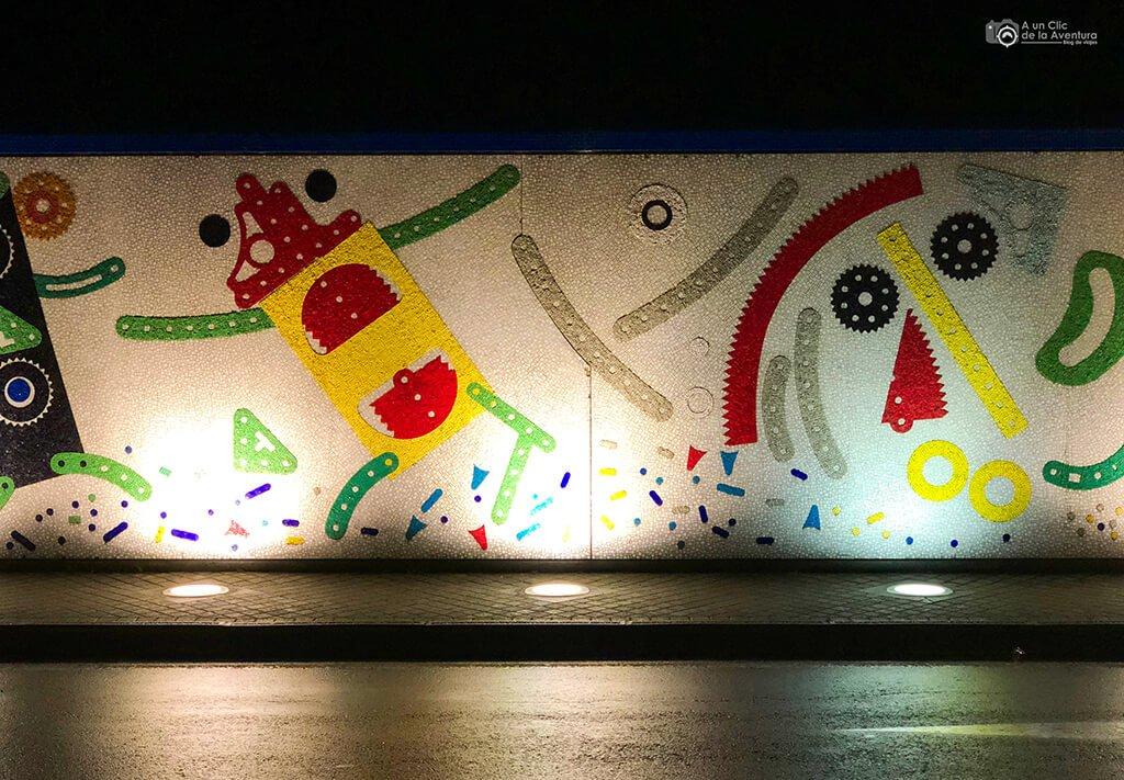 Mural de Enrico Baj, Pontedera