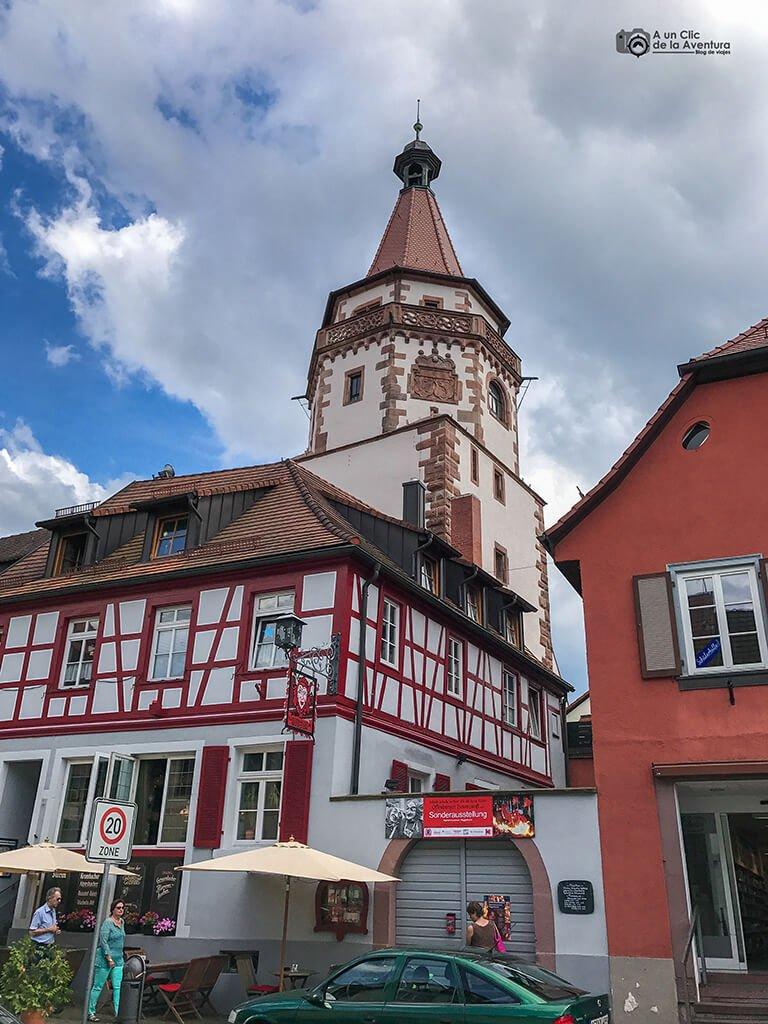 Museo de los Tontos o Narren Museum de Gengenbach en la Torre Niggel