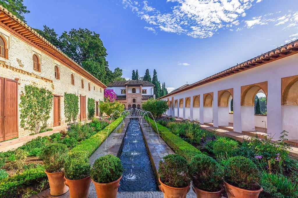 Palacio del Generalife - visitar la Alhambra de Granada