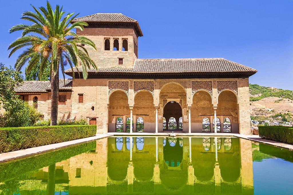 Palacio del Partal - visitar la Alhambra de Granada