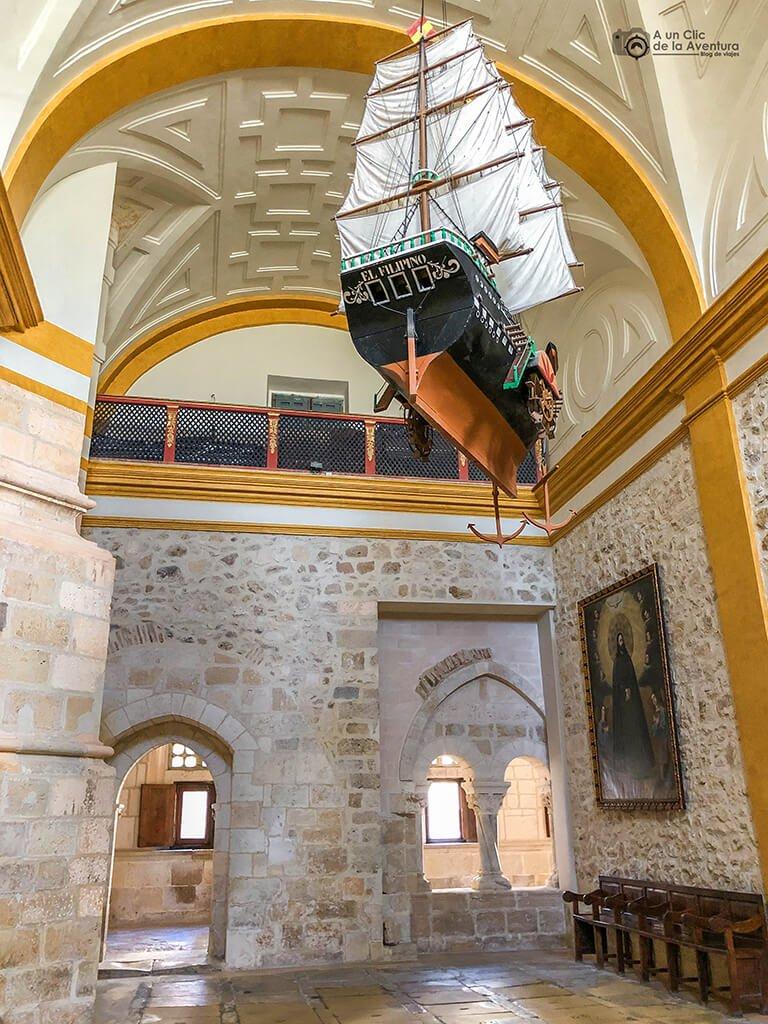Panteón del fundador del Monasterio de la Vid