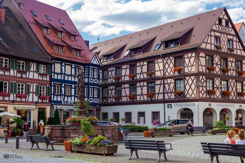 Plaza del Mercado o Marktplatz de Gengenbach