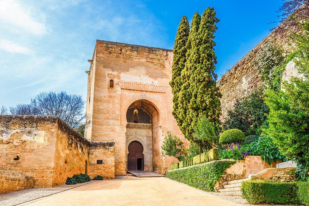 Puerta de la Justicia - visitar la Alhambra de Granada