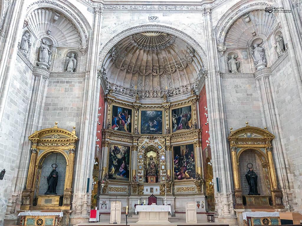 Retablo de la iglesia del Monasterio de Santa María de la Vid