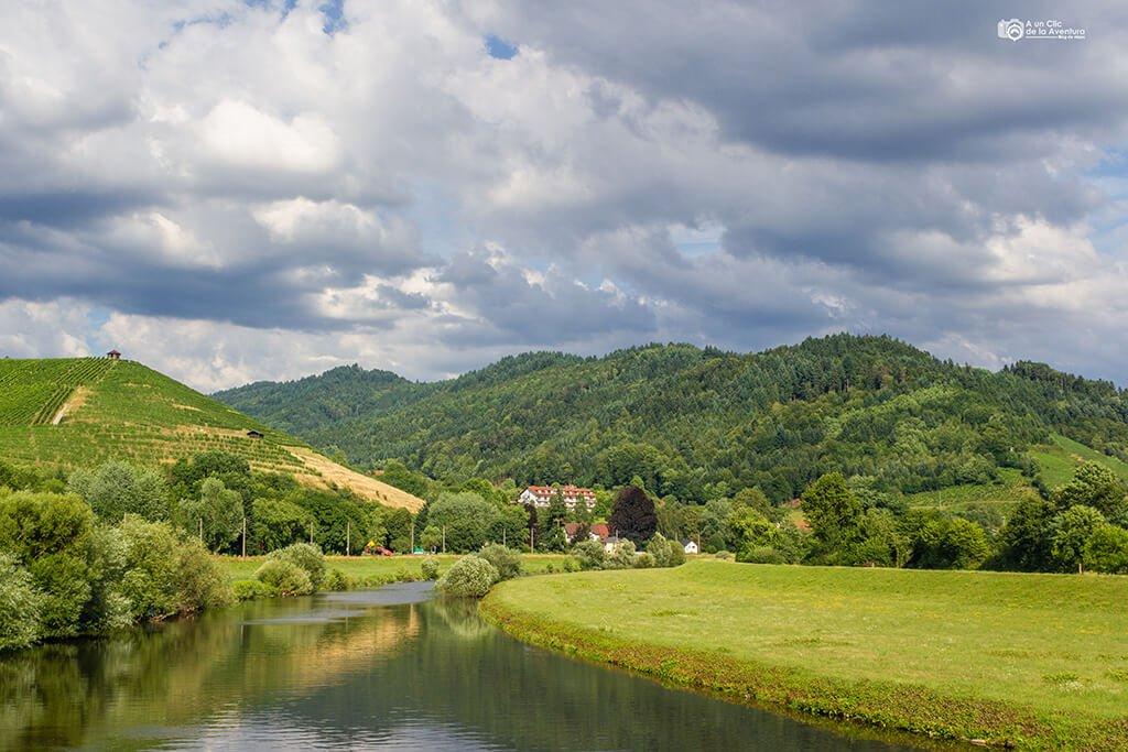 Río Kinzig a su paso por Gengenbach