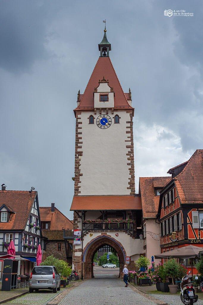 Torre Kinzig o Kinzigtorturm de Gengenbach