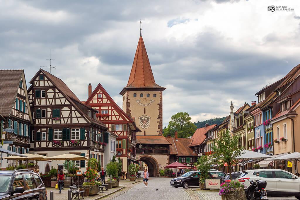 Torre de la Puerta Superior Obertorturm de Gengenbach