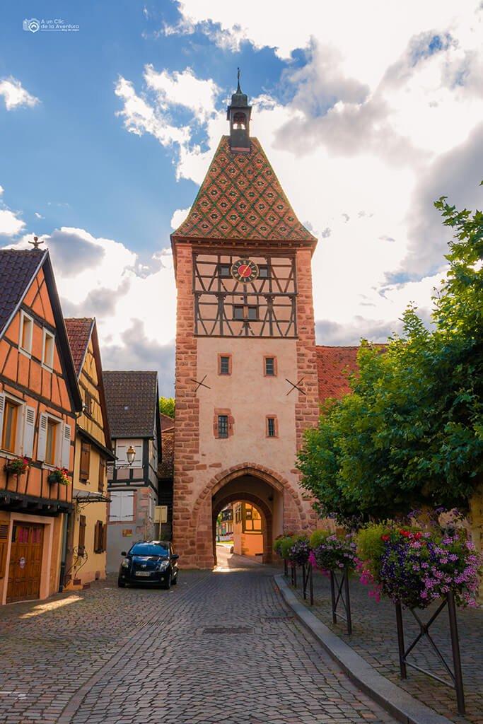 Torre de Bergheim, Alsacia