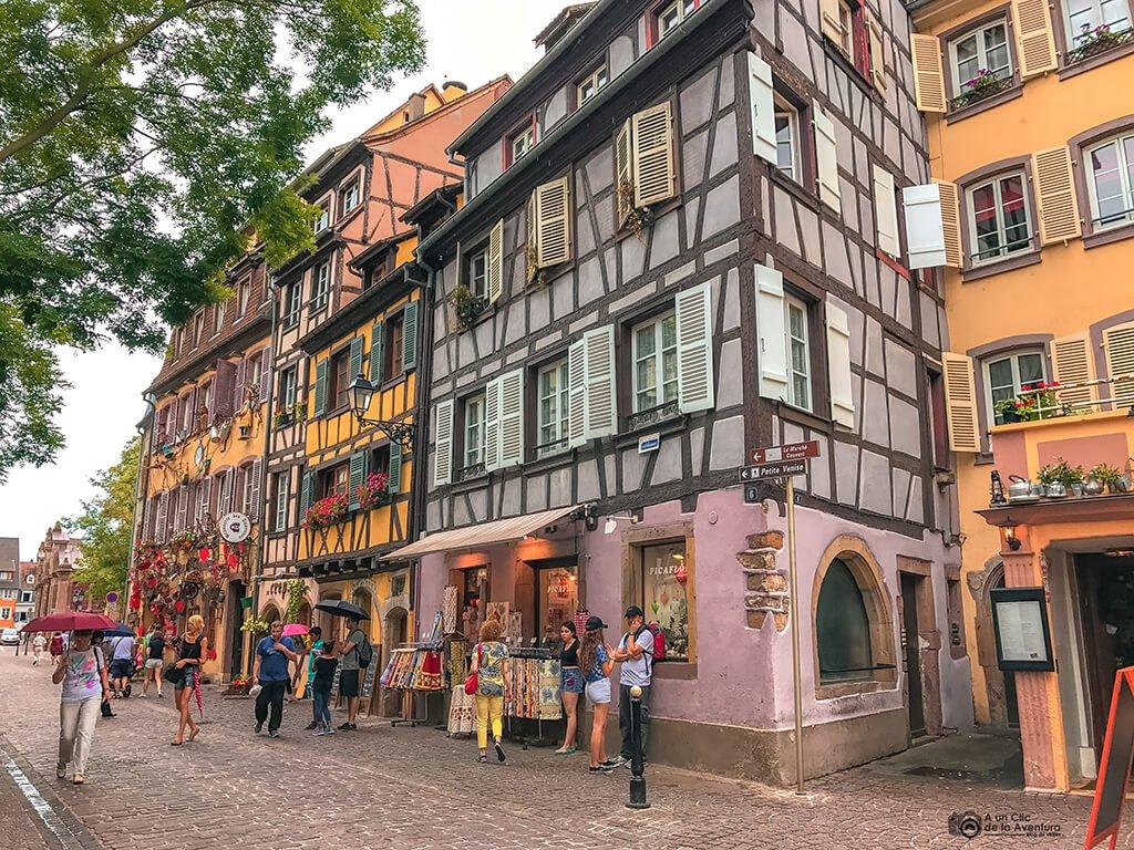 Centro histórico de Colmar, ruta por Alsacia y la Selva Negra