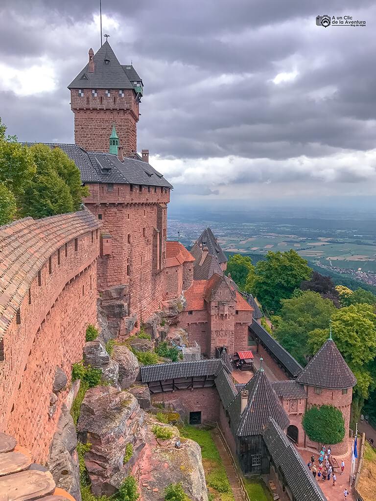 Castillo de Haut-Koenigsbourg, Alsacia