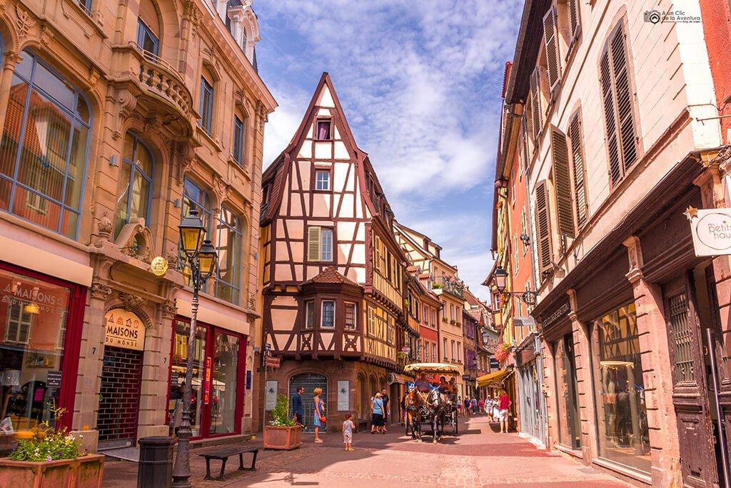 Calle de Colmar, Alsacia