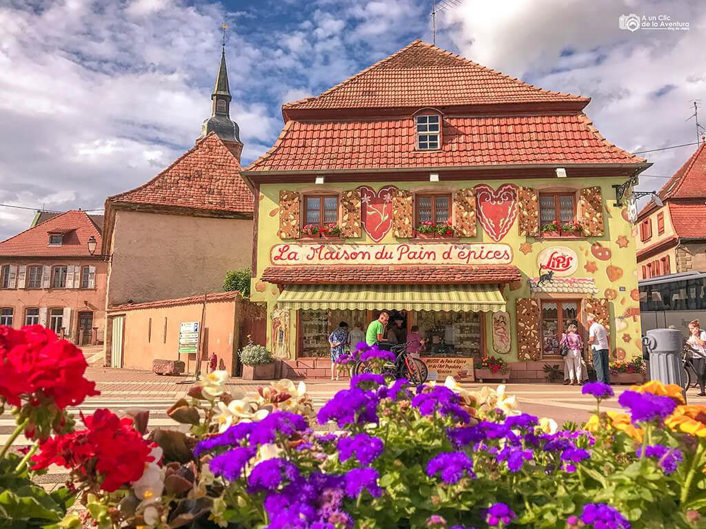 Museo del Pan de Jengibre de Gertwiller, Alsacia