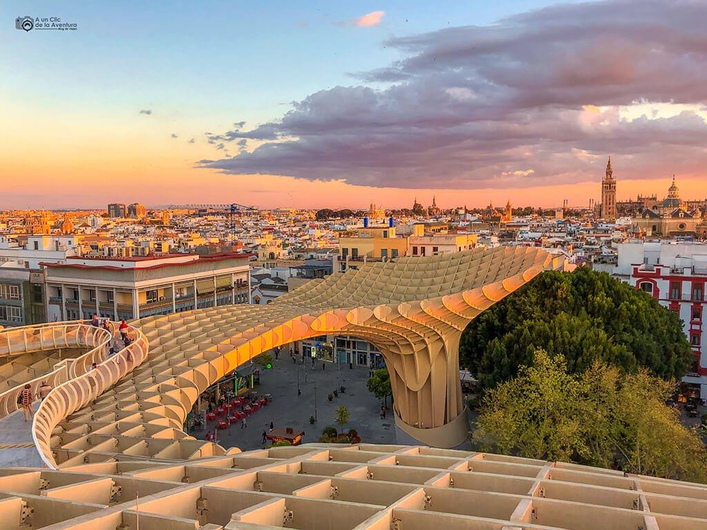 Metropol Parasol, las Setas de Sevilla