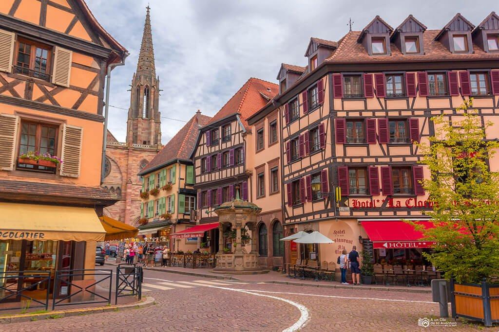 Calle de Obernai, Alsacia