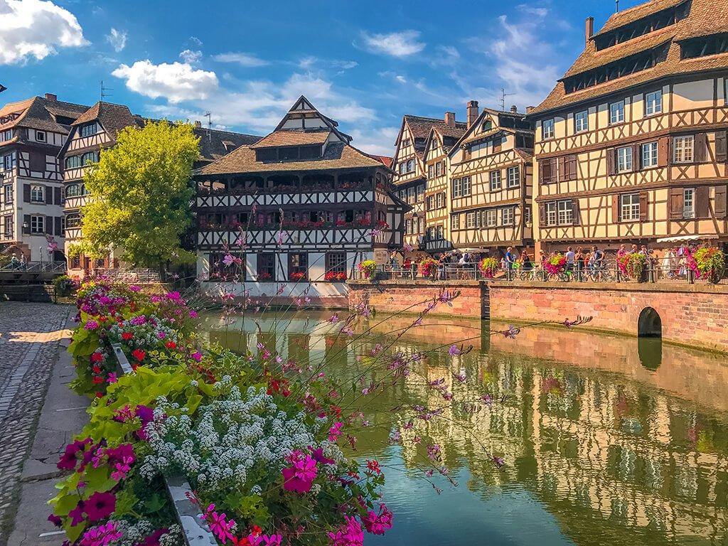 Petite France, Estrasburgo - ruta por Alsacia y la Selva Negra