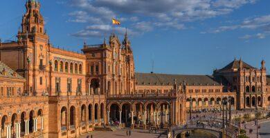 Plaza de España, lugares que ver en Sevilla