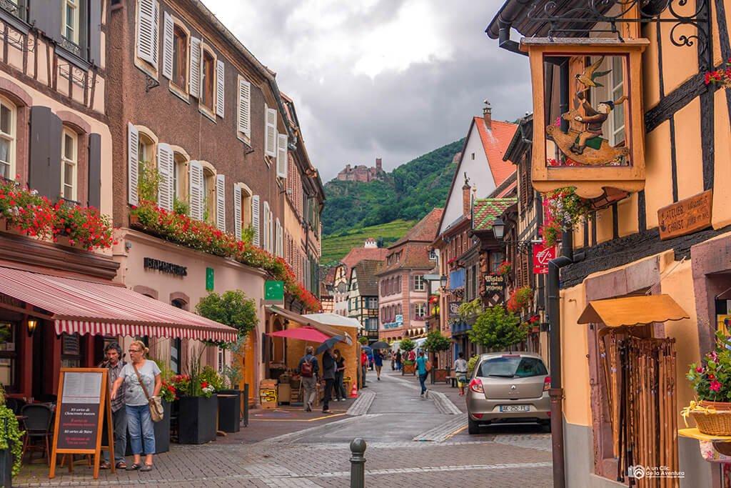 Grand Rue de Ribeauvillé, ruta por Alsacia y la Selva Negra