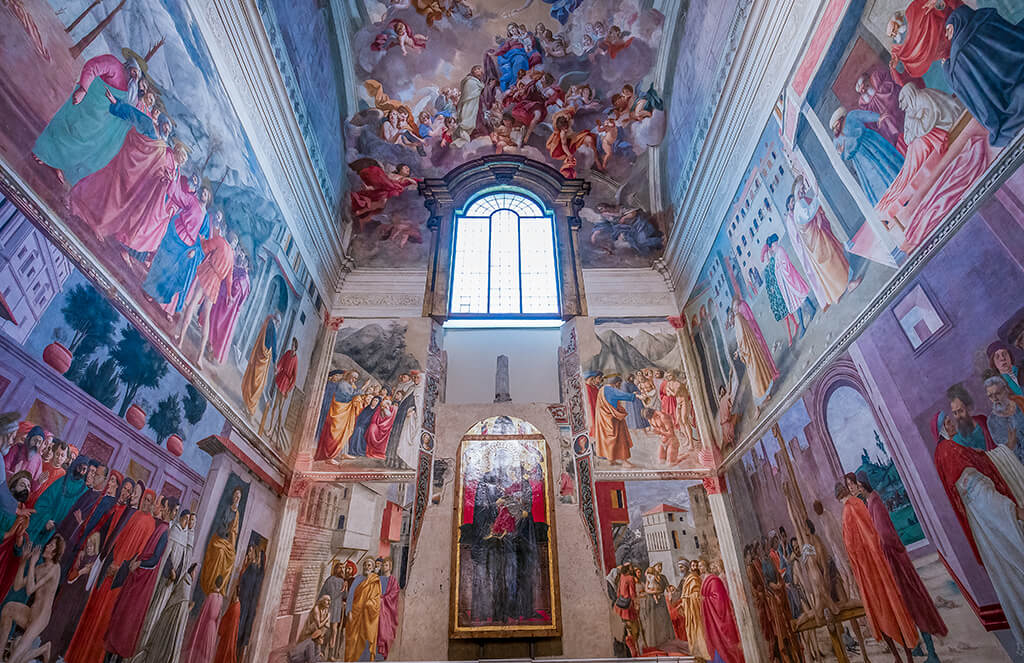 Capilla Brancacci en la iglesia de Santa María del Carmine, Florencia