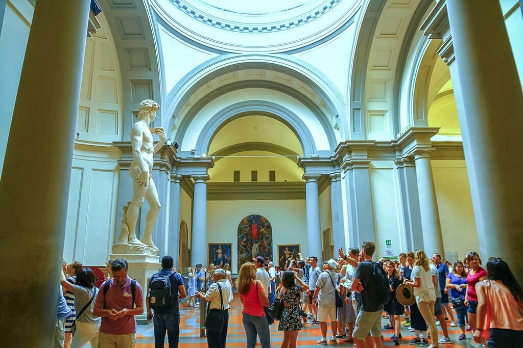 Galería de la Academia, Florencia