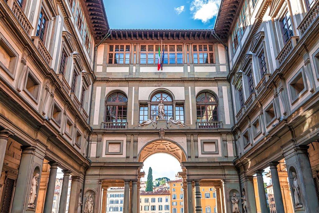 Galería de los Oficios o Uffizi, Florencia