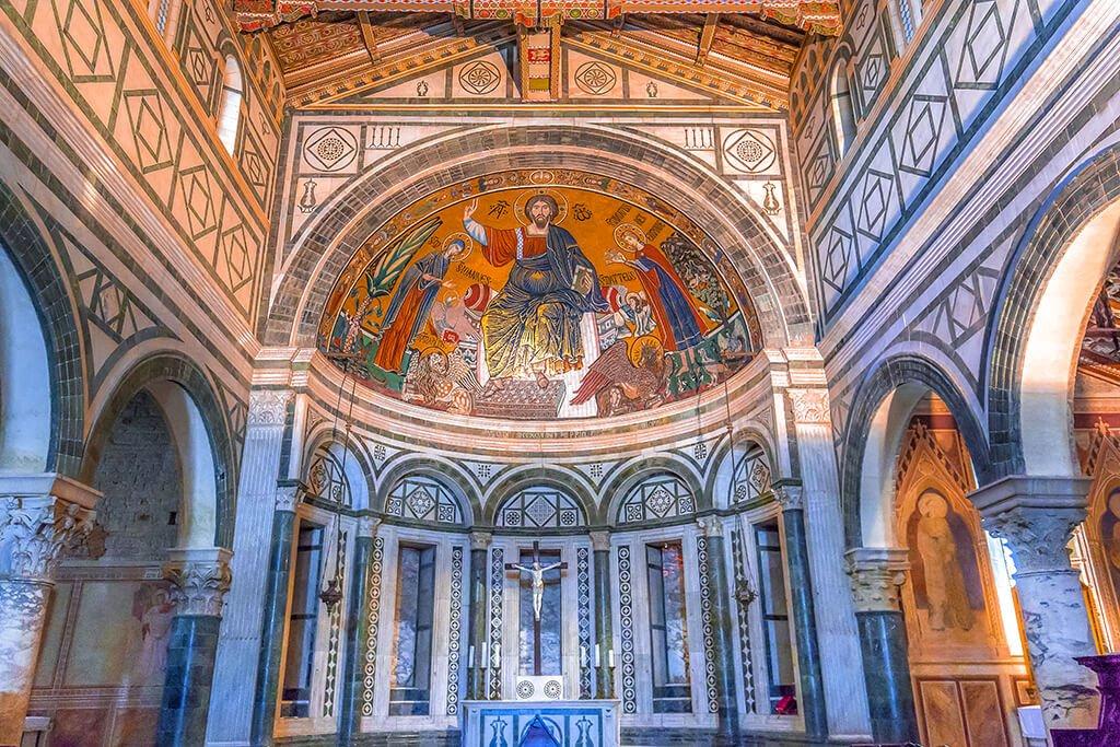 Interior de la Iglesia de San Miniato al Monte