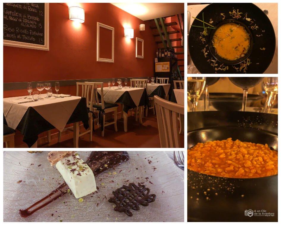 Restaurante Locanda del Boccio en Bientina