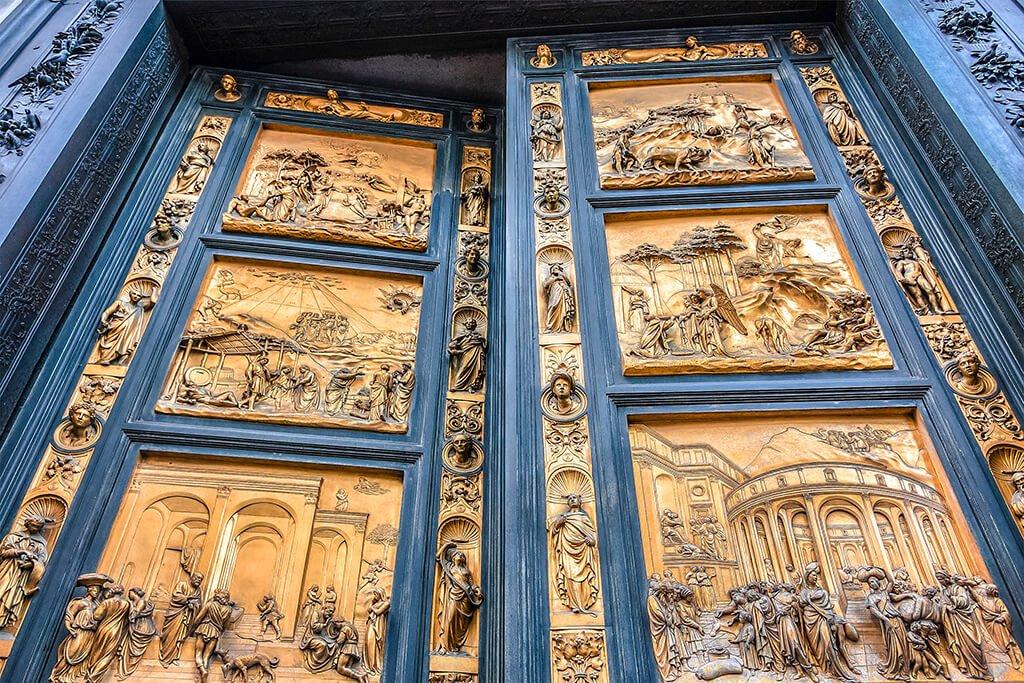 La Puerta del Paraíso del Baptisterio de San Giovanni