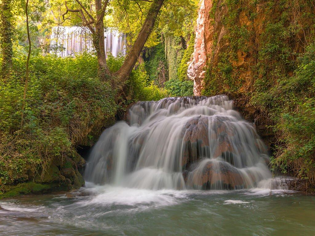 Visitar el Monasterio de Piedra, Baño de Diana