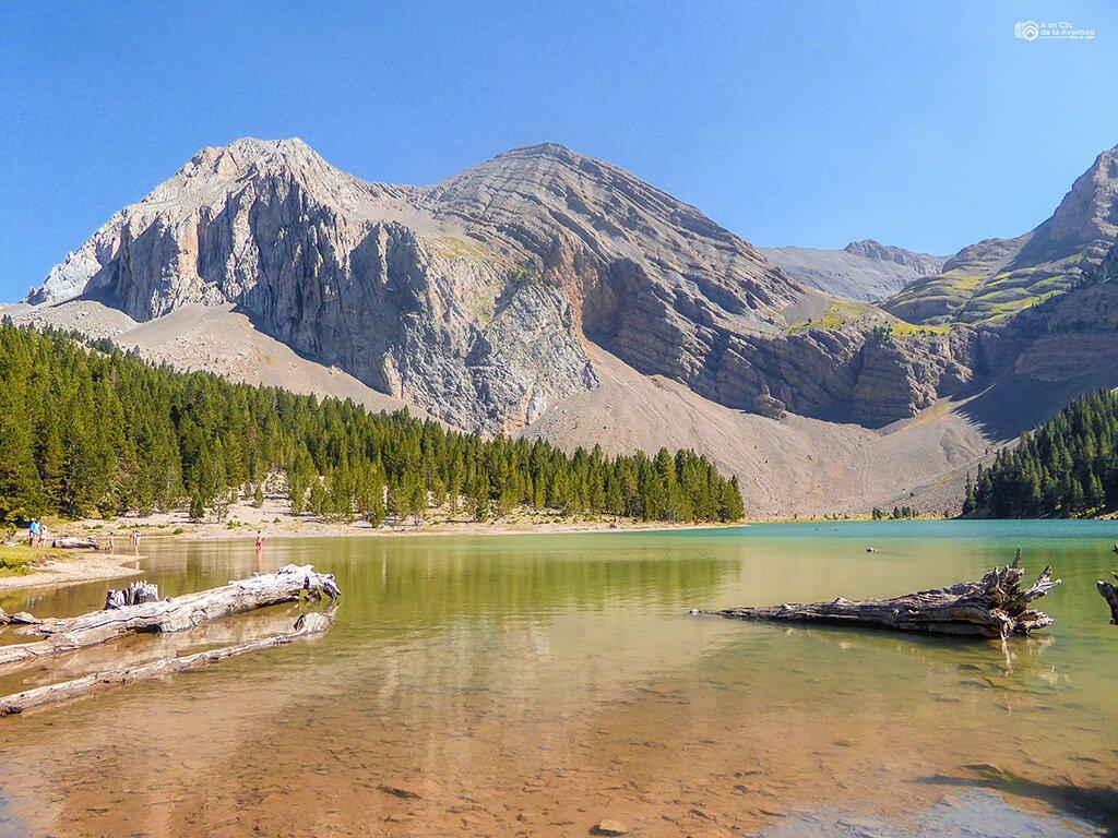 Ibón de Plan o Basa La Mora- ruta en coche por el Pirineo Aragonés