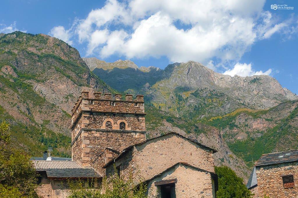 Casa Juste de Benasque- ruta en coche por el Pirineo Aragonés