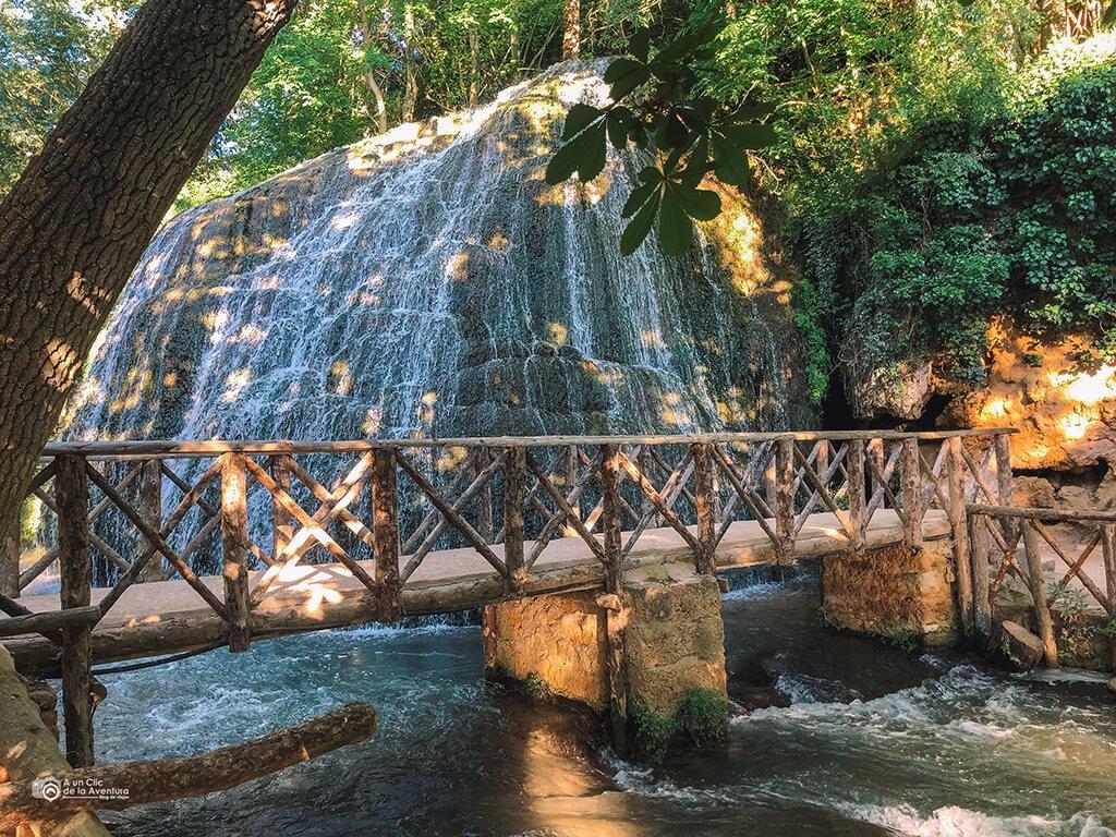 Cascada Iris, Monasterio de Piedra