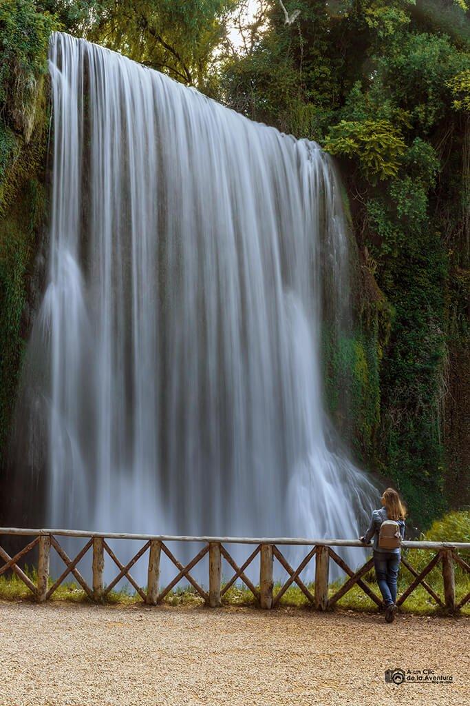 Cascada La Caprichosa, Monasterio de Piedra