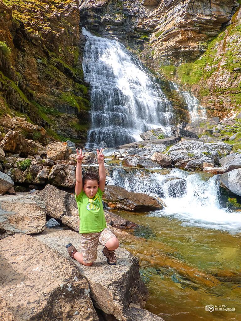 Cascada de la Cola de Caballo, Valle de Ordesa - ruta en coche por el Pirineo Aragonés