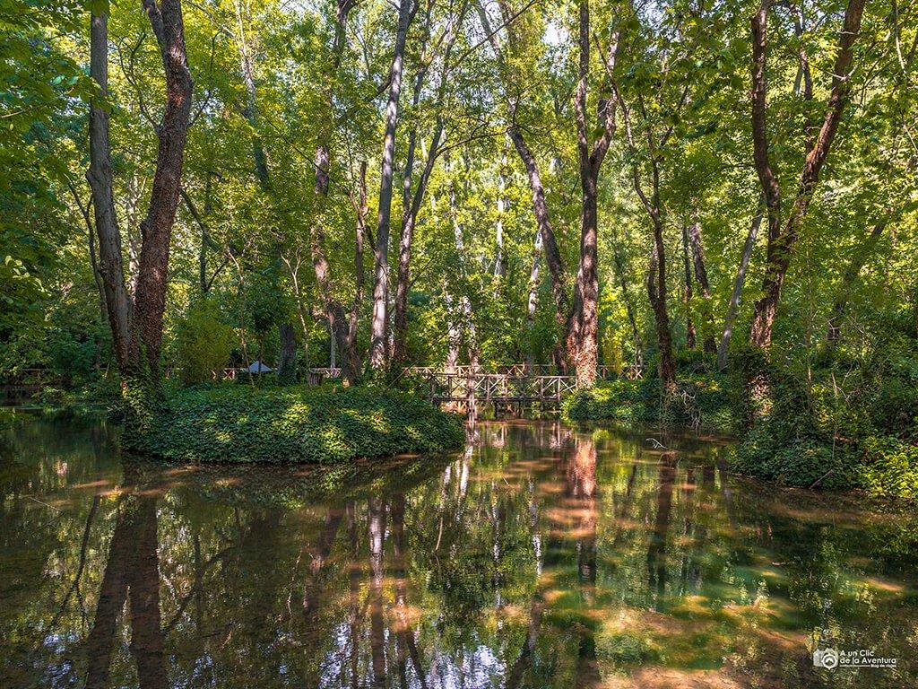 Lago de los patos, Monasterio de Piedra